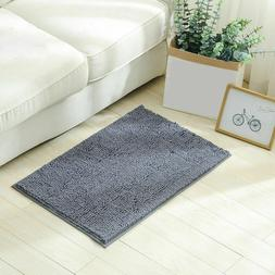 1.4 x 2 ft Large Microfiber Absorbent Bath Mat Bathroom Rugs