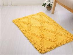 100% Cotton Bath Mat Rug Set Bathroom Shower Reversible Mats