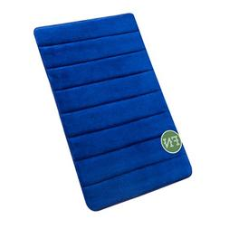 "FindNew 16"" 24"" Microfiber Memory Foam Bath Mat with Anti-sk"