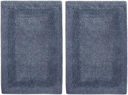 2 Piece Bath Rug Set Reversible Mat Shower Carpet Bathroom F