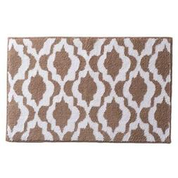 NEW 2 piece Town & Country Cotton Reversible Bath Mat Set, K