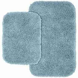 Garland Rug 2-Piece Serendipity Shaggy Washable Nylon Bathro