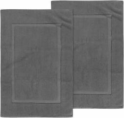 Utopia Towels 21-Inch-by-34-Inch Cotton Washable Bath Mat, 2