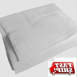 GT 6 New White Cotton Hotel Seville and Home Bath MATS Size