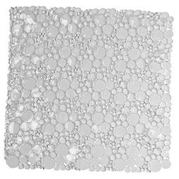 EVIDECO 7216101 Non Skid Bathroom Shower Oval Bubbles Bath M