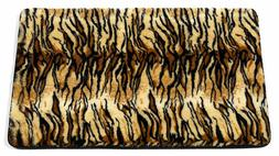 "Carnation Home Fashions Animal Instincts ""Sable"" Faux Fur Ba"