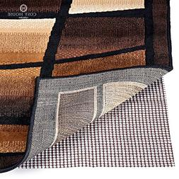 Non Slip Area Rug Pad - Fully Washable, Thick Rug Gripper fo