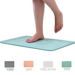 Marbrasse Bath Mat, Absorbent Diatomaceous Earth, Japanese D