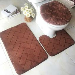 Absorbent Mat Aniti Slip Pad Bathroom Shower Carpets Area Ru