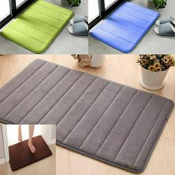 Absorbent Memory Foam Carpet Bath Bathroom Bedroom Floor Mat