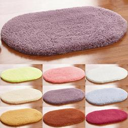 absorbent oval bathroom bedroom floor non slip