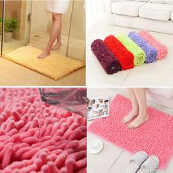 Absorbent Soft Memory Foam Bath Bathroom Bedroom Floor Mat S