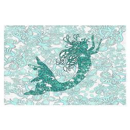 DiaNoche Woven Area Rugs, Kitchen Mats, Bath Mats by Susie K