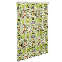 Around The Town PEVA Material Decorative Shower Curtain by Z