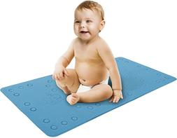 Baby Bath Mat For Tub Or Shower - Cushioned and Textured For