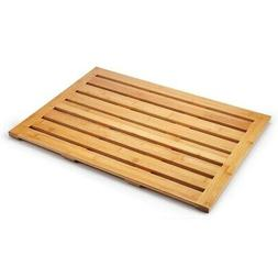 "Mosa Natural Bamboo Bath Shower Mat , 28"" X 20"""
