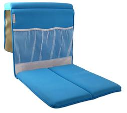 Life Upgrade Bath Kneeler in Blue - Padded Knee and Elbow Ba