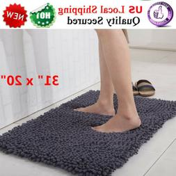 Bath Mat Non Slip Absorbent Super Cozy Microfiber Bathroom R