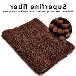 Bath Mat Rug Non-Slip Door Mat Absorbent Bathroom Shower Car