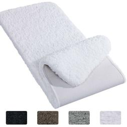 Lifewit Bath Runner Rug Soft Shaggy Bath Mat Non-slip Rubber