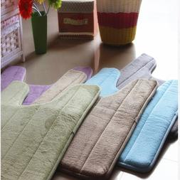 Bathroom Coral Fleece Carpet U-<font><b>Shaped</b></font> Me