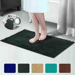 Bathroom Rug Shower Bath Mat Washable Plush Soft Microfiber