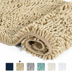 bathroom rug shower bath mat washable plush
