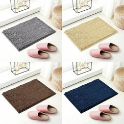Subrtex Bathroom Rugs Absorbent Soft Microfiber Shaggy Non-S