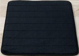 Black Memory Foam Bath Mat-Incredibly Soft And Absorbent Rug