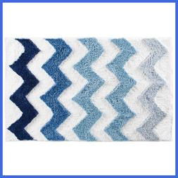 Chevron Microfiber Accent Shower Rug Bath Mat For Master Gue