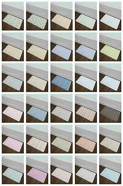 Colorful Baby Bath Mat Bathroom Decor Plush Non-Slip Mat 29.