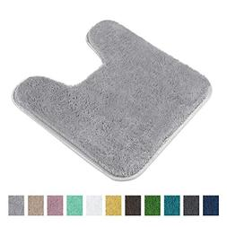 Contour Bath Rug, Seavish Microfiber Anti-bacterial U-shaped