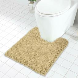 Mayshine Contour Bathroom Mat For Toilet/Non-Slip/Soft/Absor