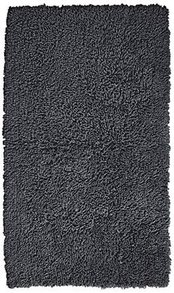 Pinzon 100% Cotton Looped Bath Rug with Non-Slip Backing - 3