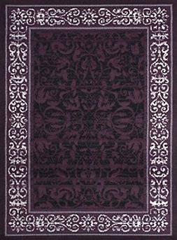 United Weavers of America Dallas Baroness Rug, 2 x 3', Plum