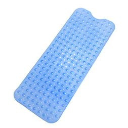 Tushies & Toes Divine Bath Mat, Extra Long, Blue