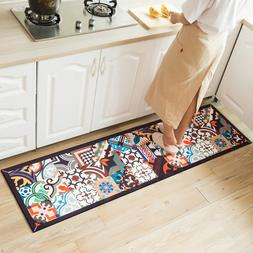 Ethnic Printed Kitchen <font><b>Mat</b></font> Set Dirty-pro