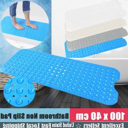 EXTRA LONG  Bath Mat Non Slip Anti Skid Rubber Shower Tub Sa