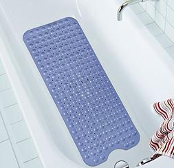 NTTR Extra Long Bathtub Mats Anti-Slip Tub Mat Anti-Bacteria