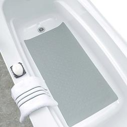 SlipX Solutions Extra Long Rubber Bath Safety Mat Adds Non-S