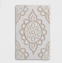 * Geometric Shape Bath Rug Breezy Peach - Threshold 20X32