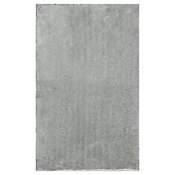 "Gray Bathroom Mat- Absorbable and Ultra Plush 17"" X 24"" Non-"
