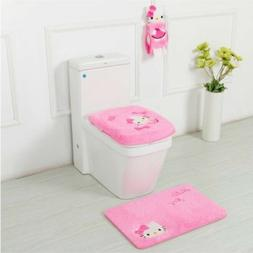 Hello Kitty bathroom sets & accessories - toilet seat cover