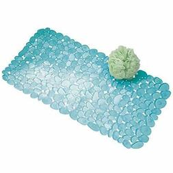 iDesign Pebblz Suction Non-Slip Bath Mat for Shower, Bathtub