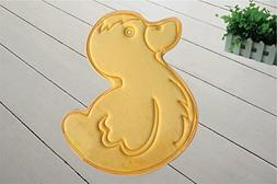 WPM Incredibly Soft and Absorbent Kid's Memory Foam Bath Mat