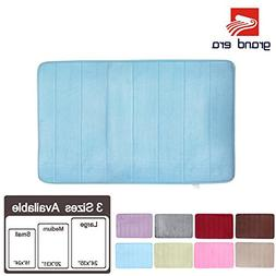 GRAND ERA Incredibly Soft and Absorbent Memory Foam Bath Mat