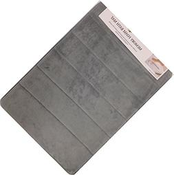 Incredibly Soft and Absorbent Memory Foam Bath Mat, 17 By 24