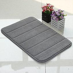 's incredibly soft and absorbent memory foam bath mat, 17 by