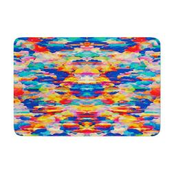 "KESS InHouse KP1006ABM02 Bath Mat Kathryn Pledger ""Cloud Nin"