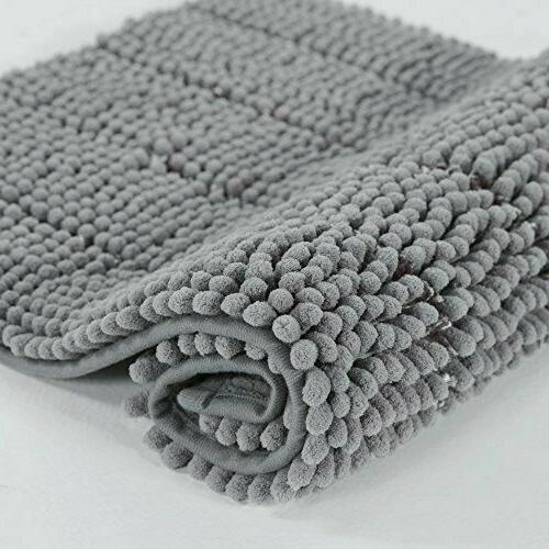 Bath Floor Mat Bathroom Non-Slip Rugs Microfiber Bath Ultra